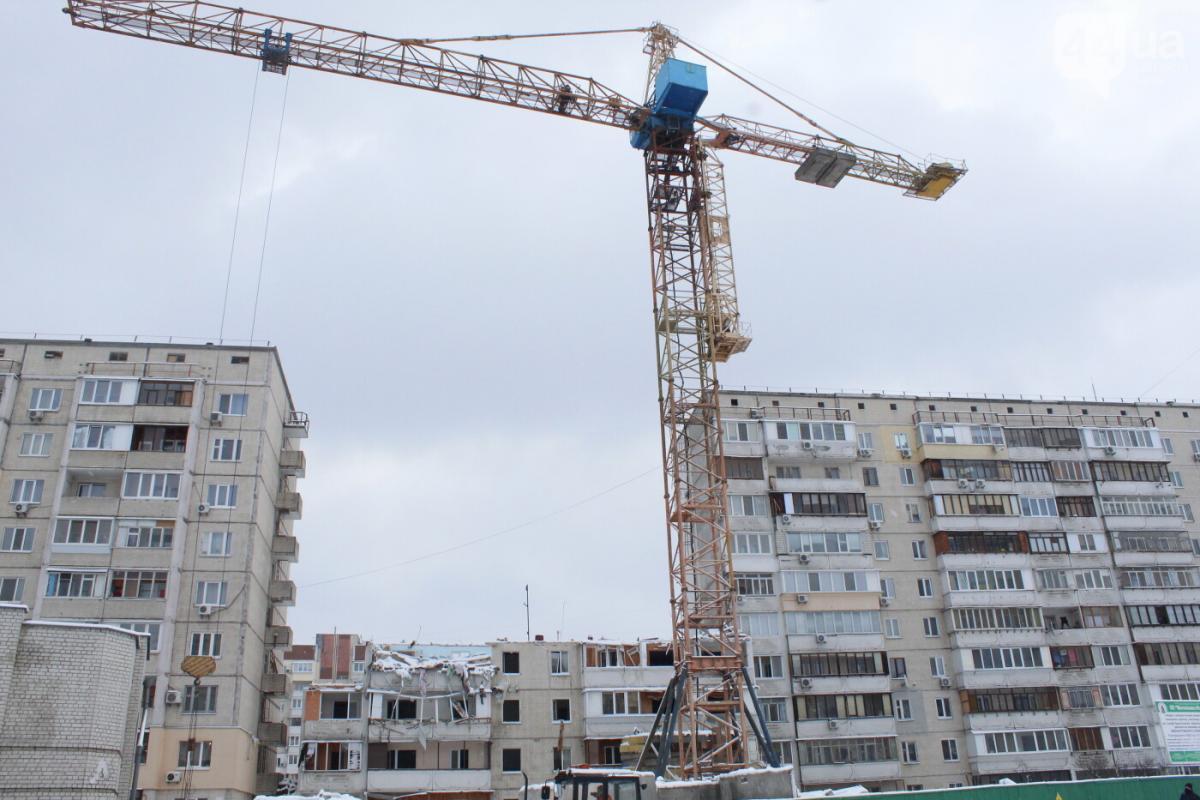 Место взрыва на Позняках / фото: 044.ua