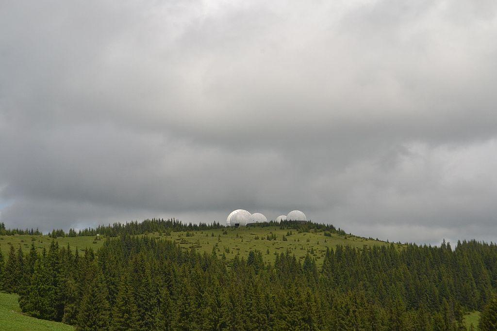 Вид на станцию«Памир» со стороны села Шипот / фото uk.wikipedia.org/Oleksa Yarys