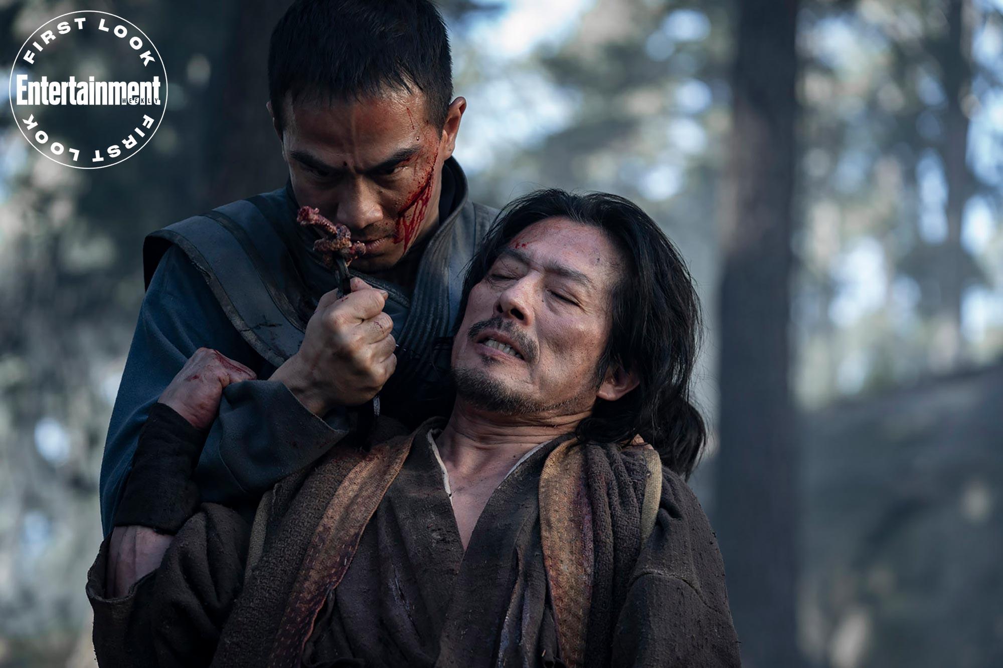 Би-Хан и Ханзо Хасаши– будущие Саб-Зиро и Скорпион /фото ew.com
