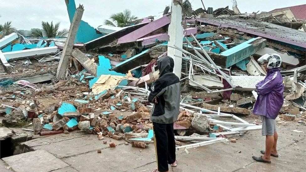 Наслідки землетрусу в Індонезії / фото twitter.com/harrytweetsat