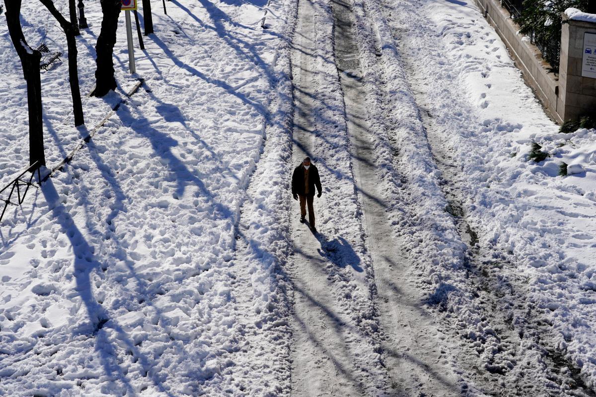 Україну охоплять сильні морози / фото REUTERS