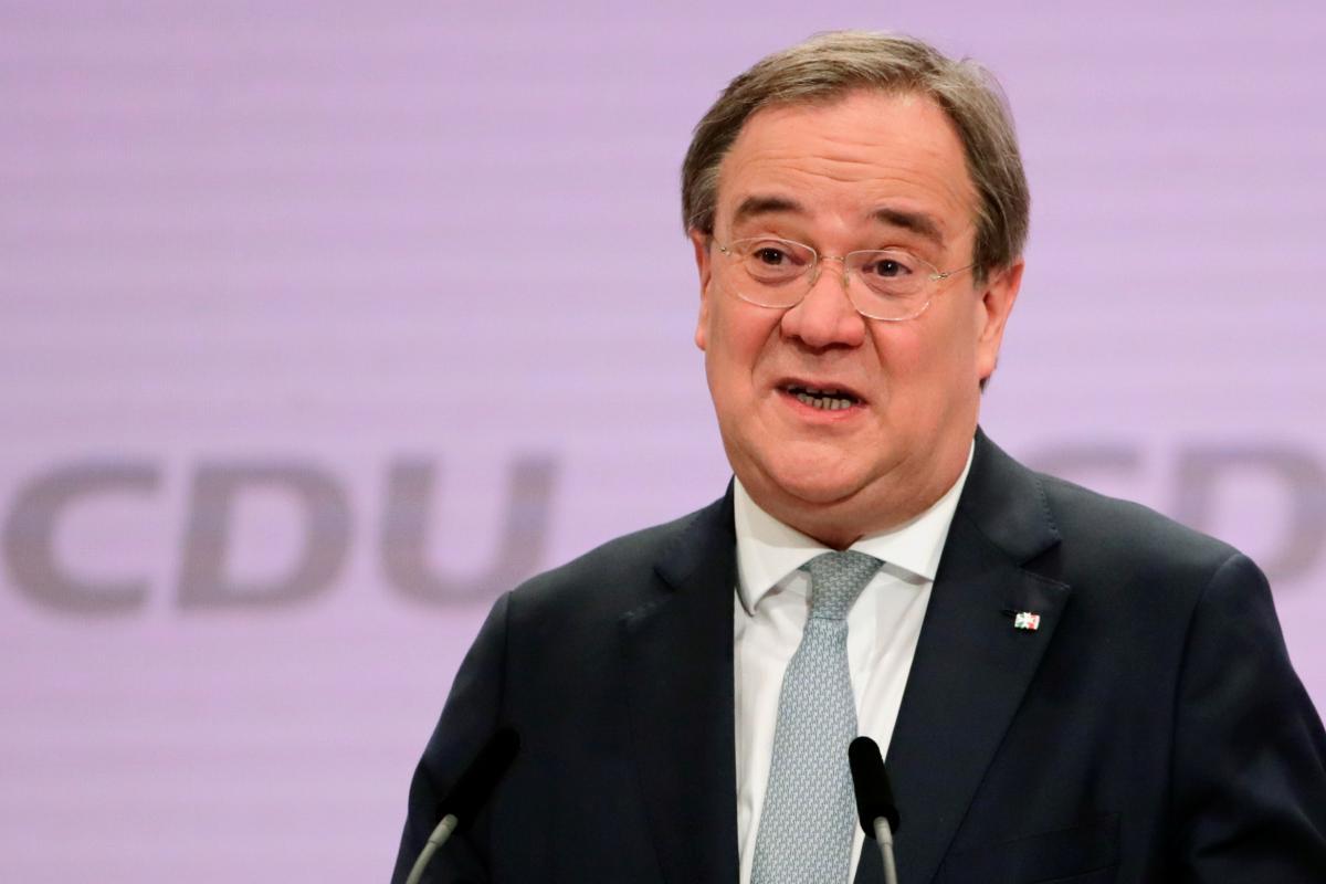 Новий лідер ХДС НімеччиниАрмін Лашет / фото REUTERS