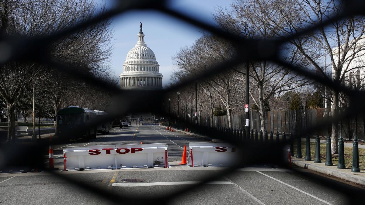 В Вашингтоне готовятся к инаугурации нового президента / фото REUTERS