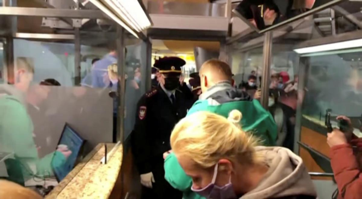 Навального затримали в Москві / фото REUTERS