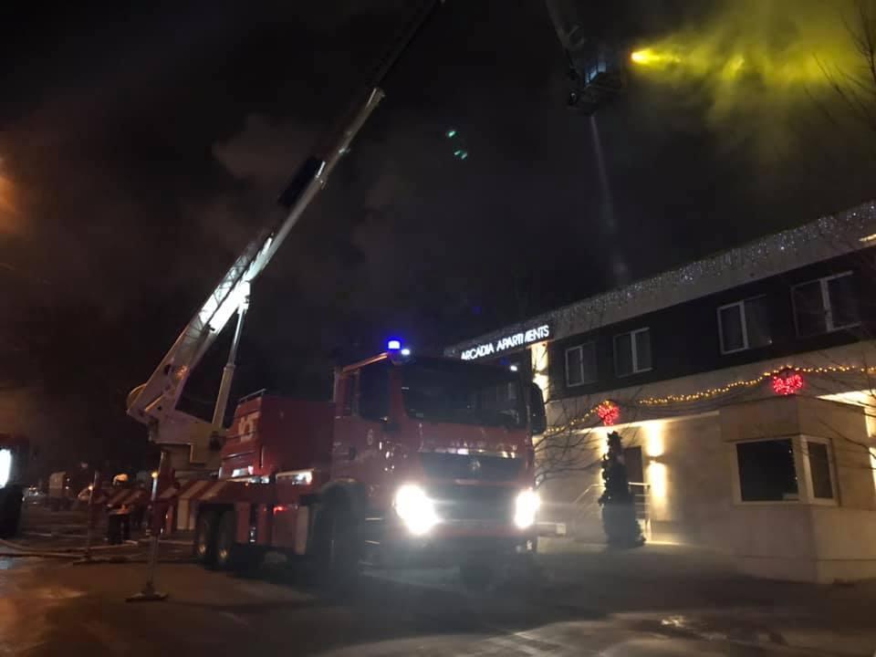 Пожар в Одессе / фото facebook.com/DSNSODE