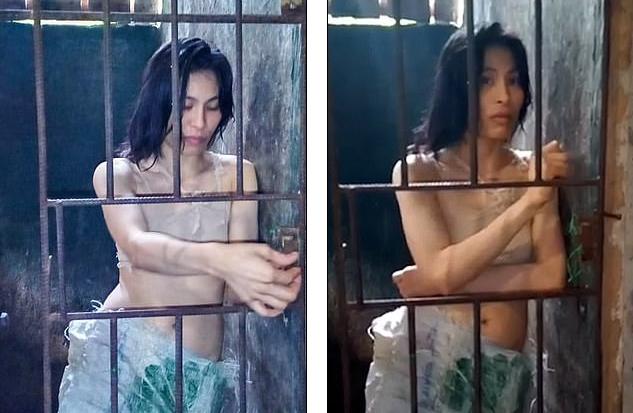 Девушку пять лет держали в клетке из-за психического расстройства / фото dailymail.co.uk