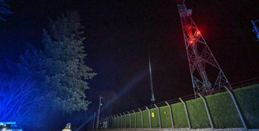 """Ответственность за поджог взял так называемый """"Комитетза отмену 5G""""/ фото Epopulaire"""