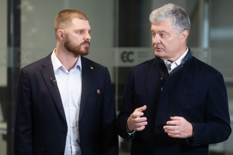 Борисенко и Порошенко / фото facebook.com/petroporoshenko