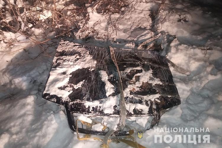 Юноша получил многочисленные травмы после столкновения с деревом / фото Нацполиция