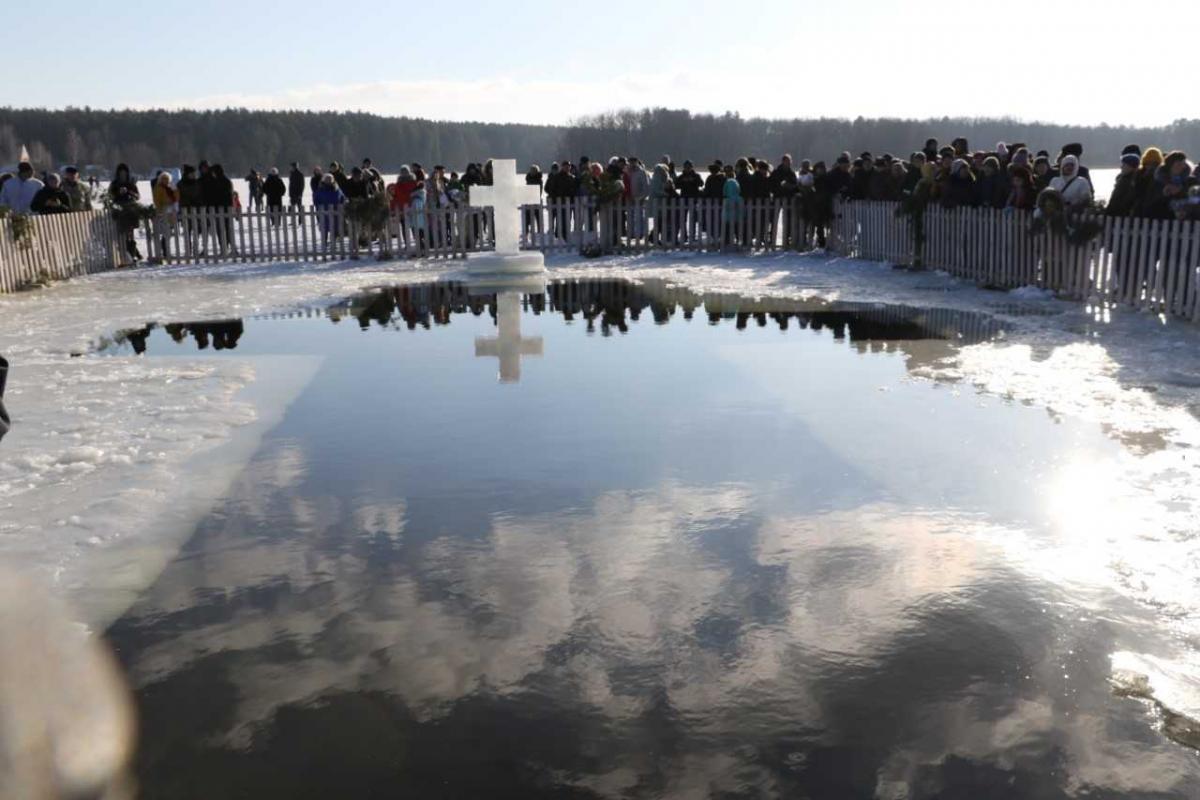 Освящение воды в Гидропарке Житомира отменили из-за карантина / фото Житомирского горсовета