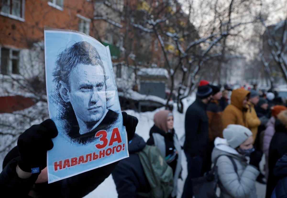 После заключения Навального протесты, скорее всего, не прекратятся / фото REUTERS