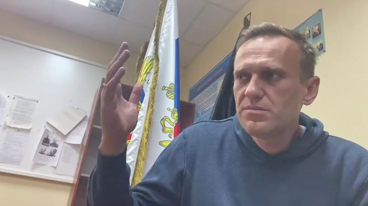 Навального заарештували на 30 діб / фото REUTERS