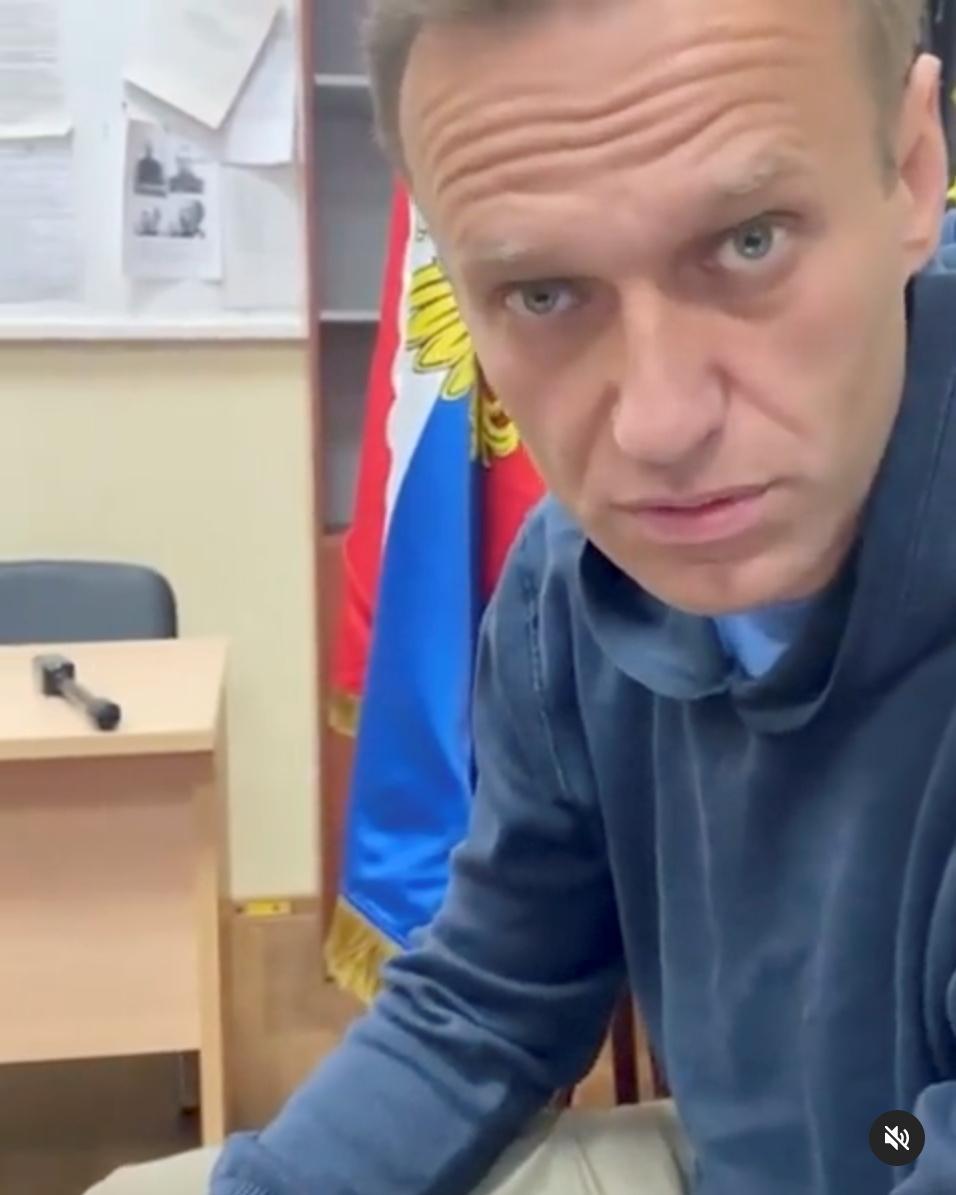 Навальний нещодавно повернувся в РФ \ фото REUTERS