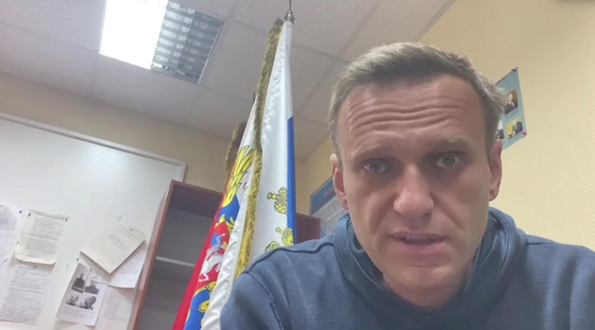 Навального етапували доколонії / REUTERS