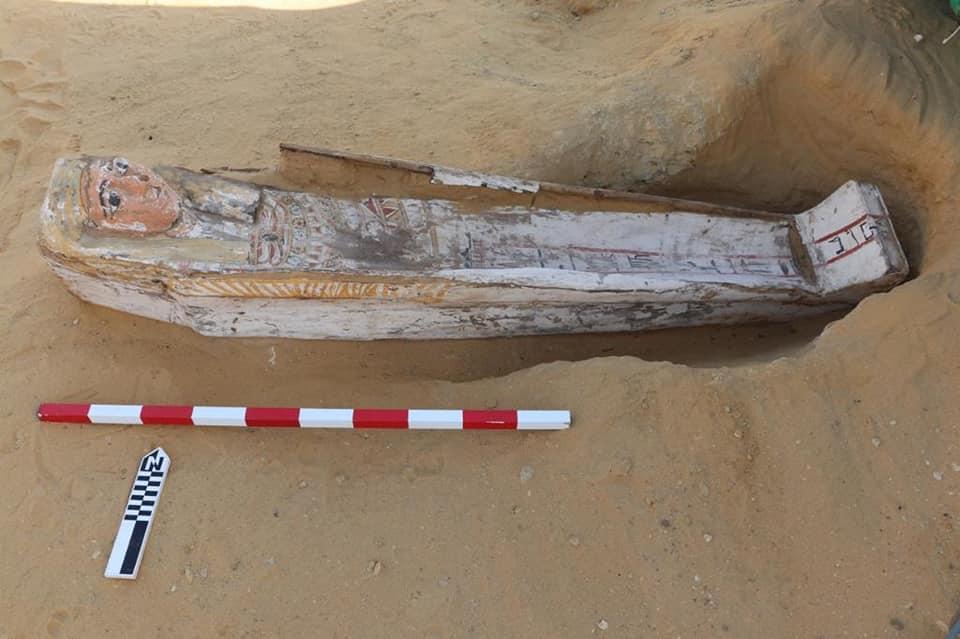 Багатьом саркофагам кілька тисяч років / фото facebook.com/Dr-Zahi-Hawass