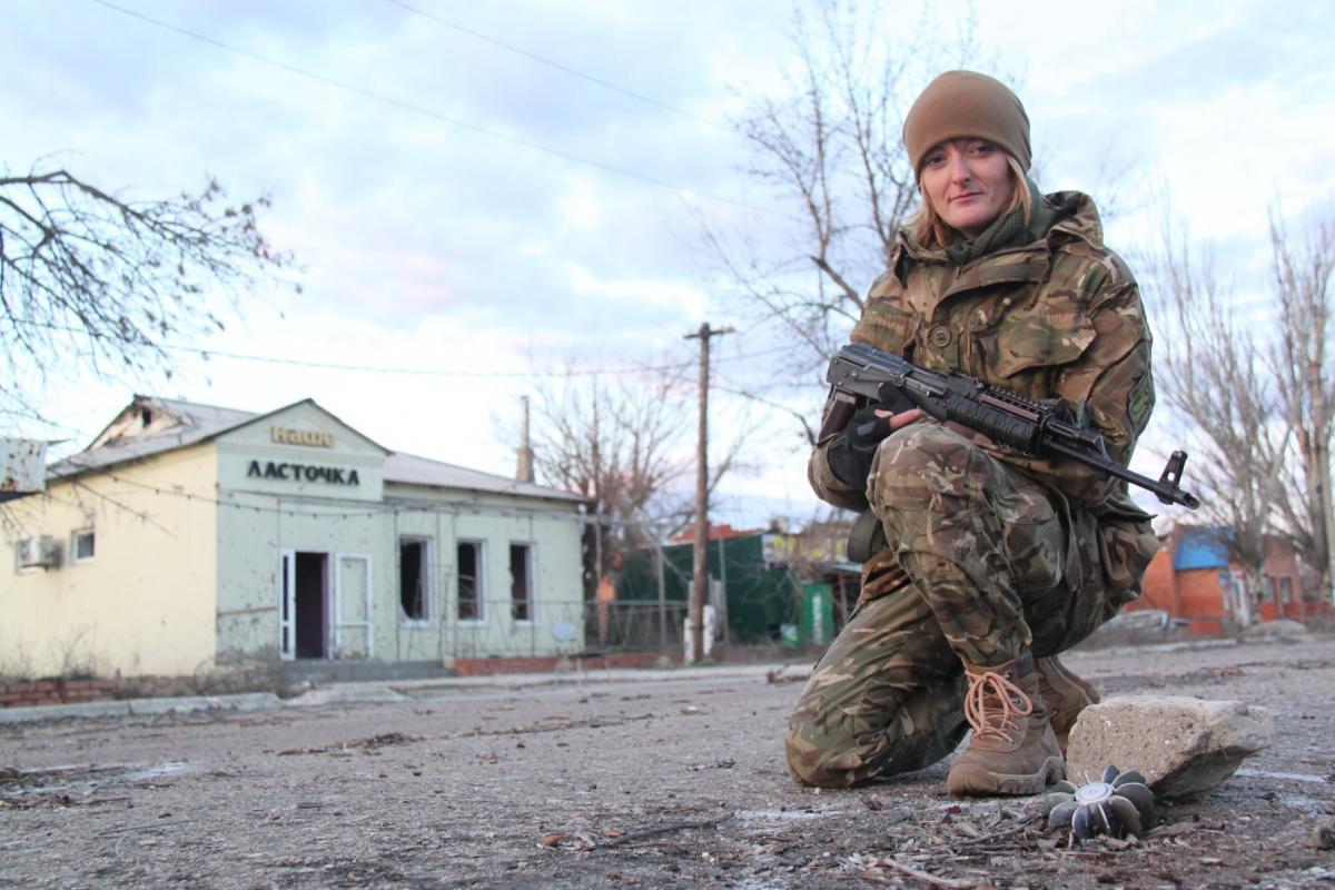 Виктория Котеленец в Широкино в 2016 году / фото Елена Белозерская