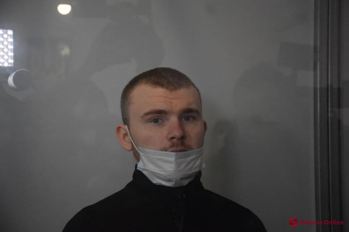 Тарасов у залі суду / фото odessa.online