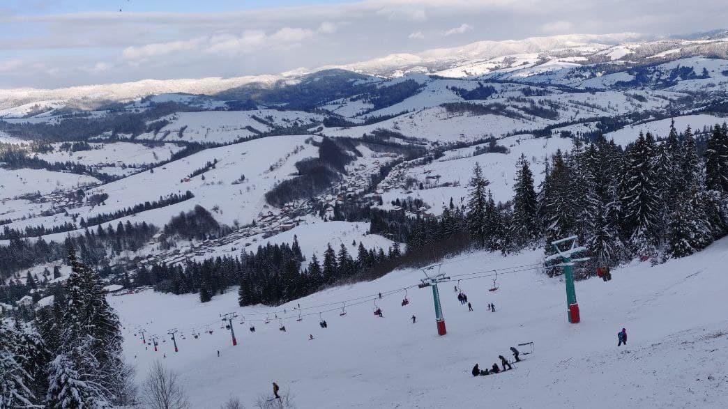 Цього року Закарпаття радує туристів снігом / фото УНІАН