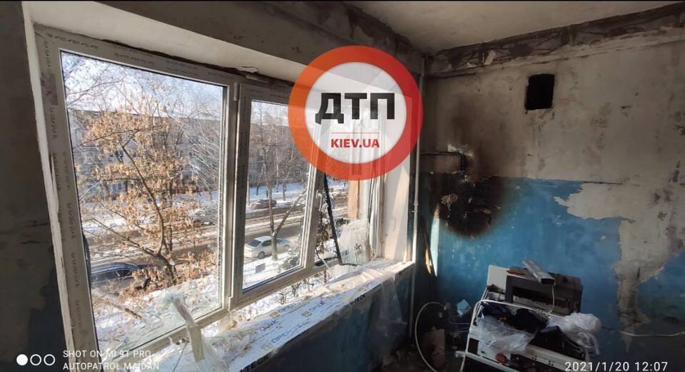 В Киеве в квартире взорвался газ/ Facebook, dtp.kiev.ua