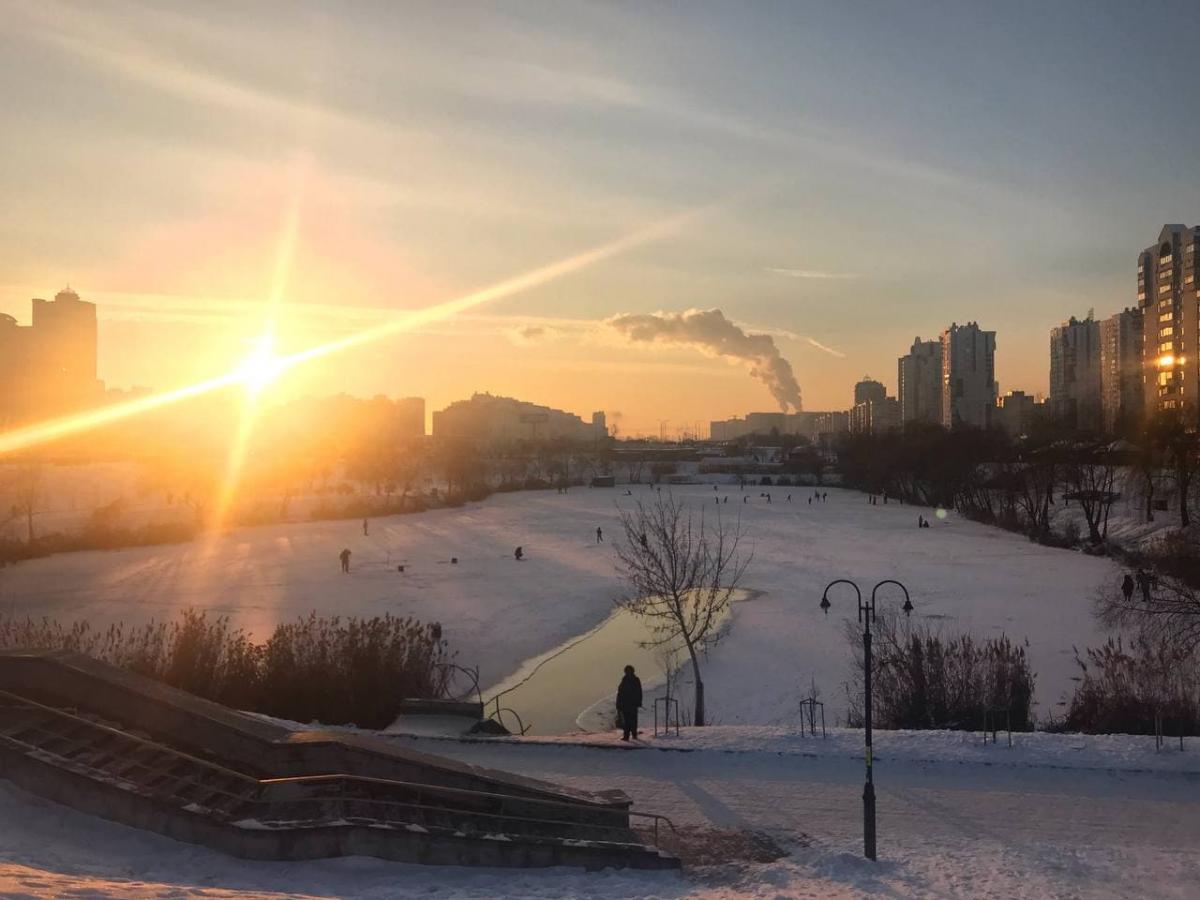 У Києві фіксують високий рівень забруднення повітря / фото УНІАН, Юрій Годован