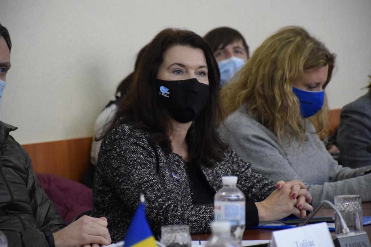 Голова ОБСЄ відвідала зону ООС / фото facebook.com/pressjfo.news
