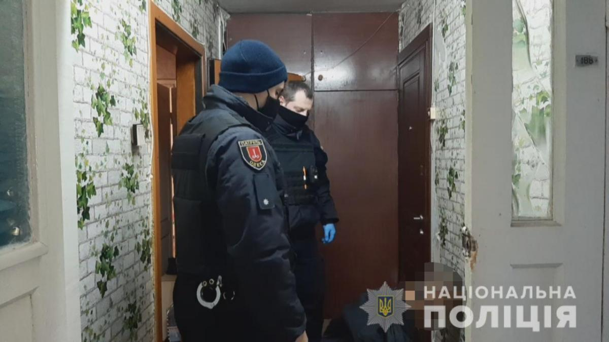 Задержанный одесский убийца работал в отеле, но был уволен/ фото Нацполиция Одесской области