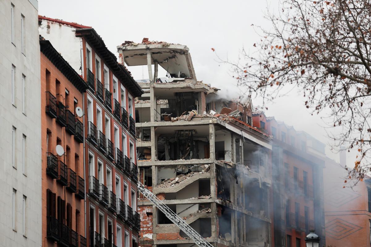 В Мадриде прогремел взрыв / REUTERS