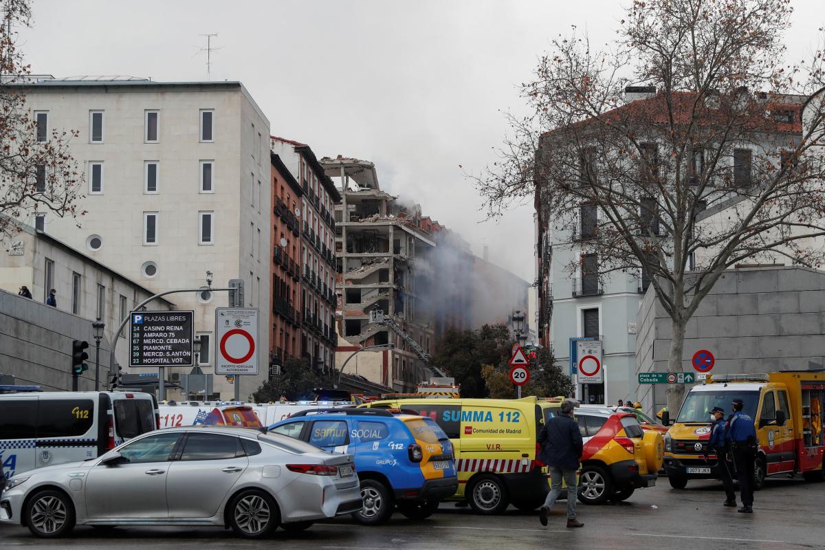 Взрыв в Мадриде / REUTERS