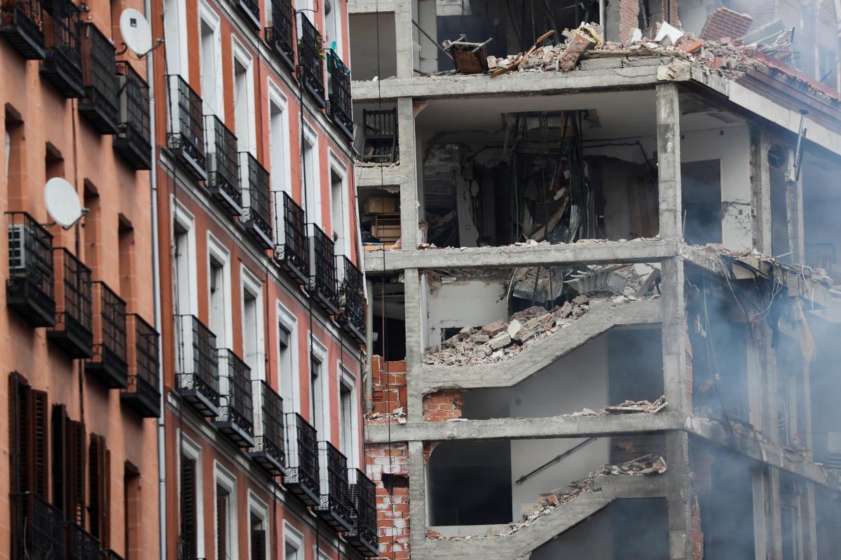 В центрі Мадрида прогримів потужний вибух/ фото REUTERS
