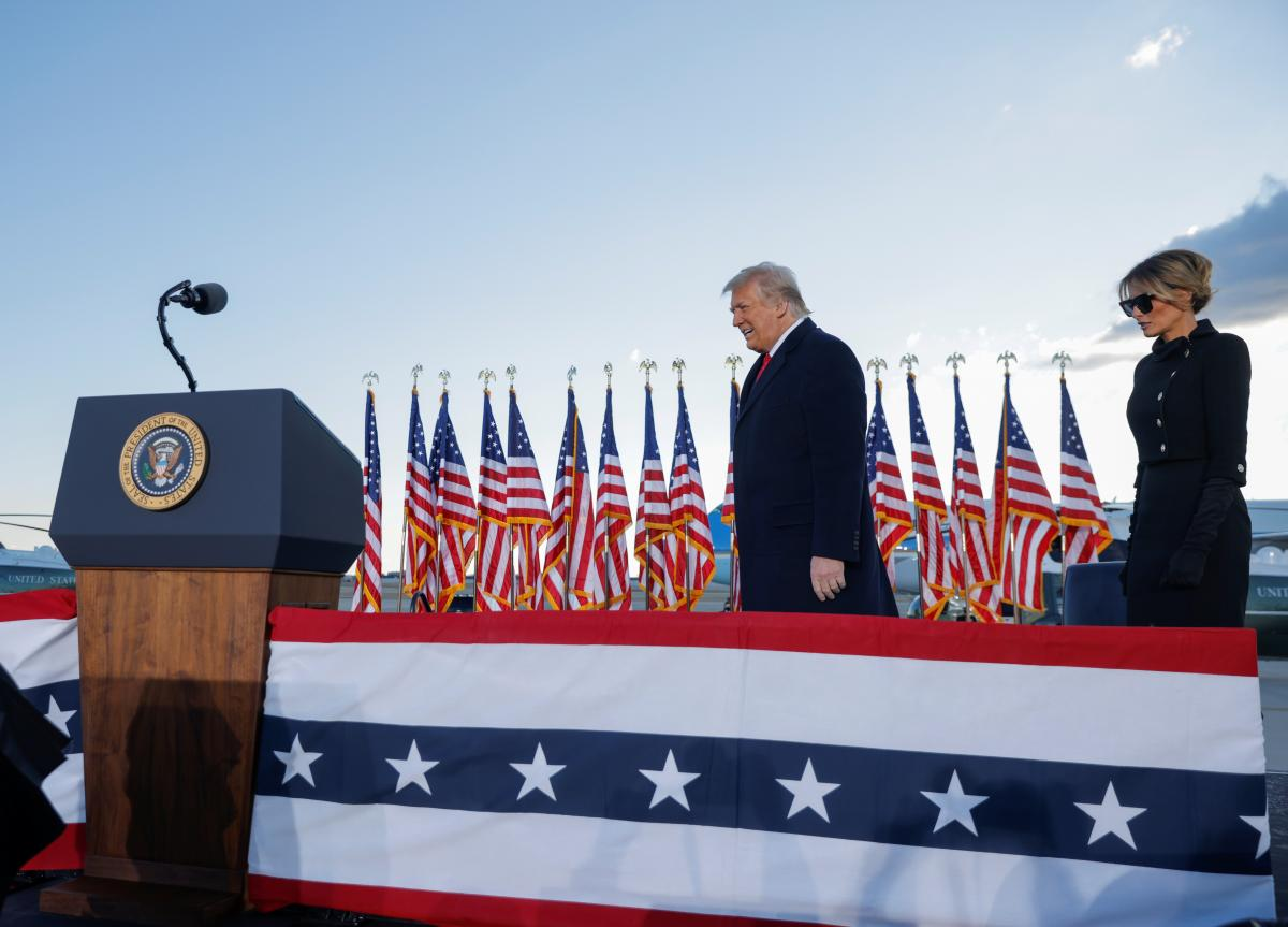 В США начнут процедуру импичмента Трампу / фото REUTERS