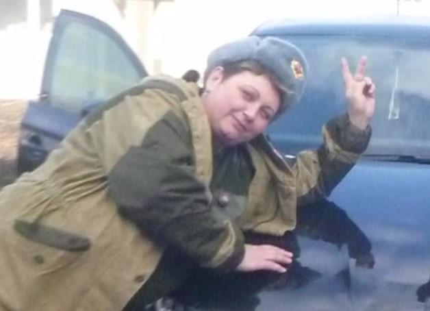 Сепаратистка воювала ще з 2014 року / фото СБУ
