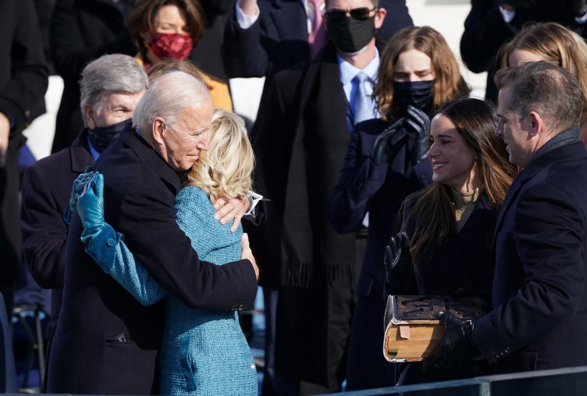 Інавгурація Байдена / фото REUTERS