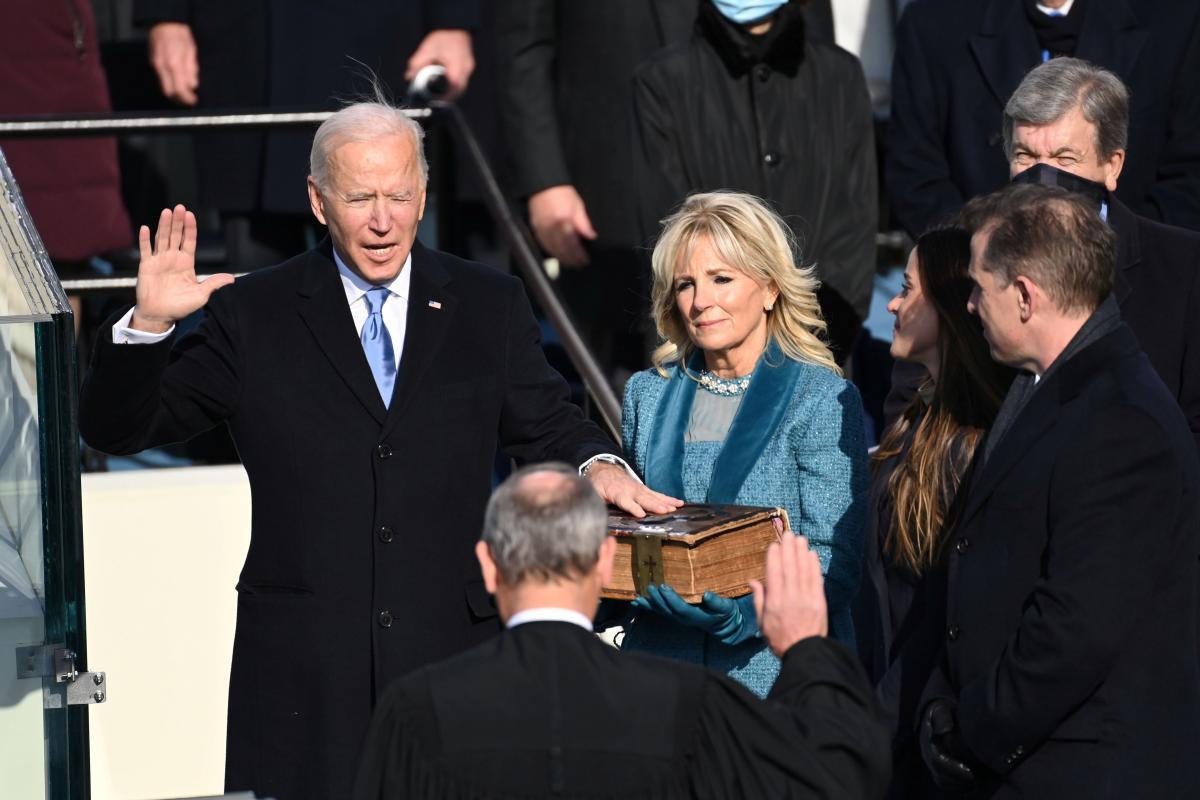 Байден став президентом США / фото REUTERS