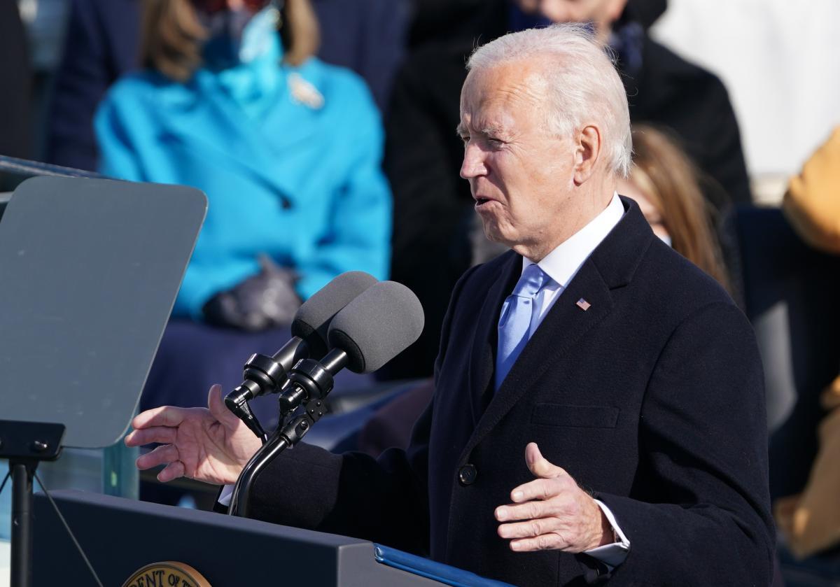 Байден вже склав присягу президента США / фото REUTERS