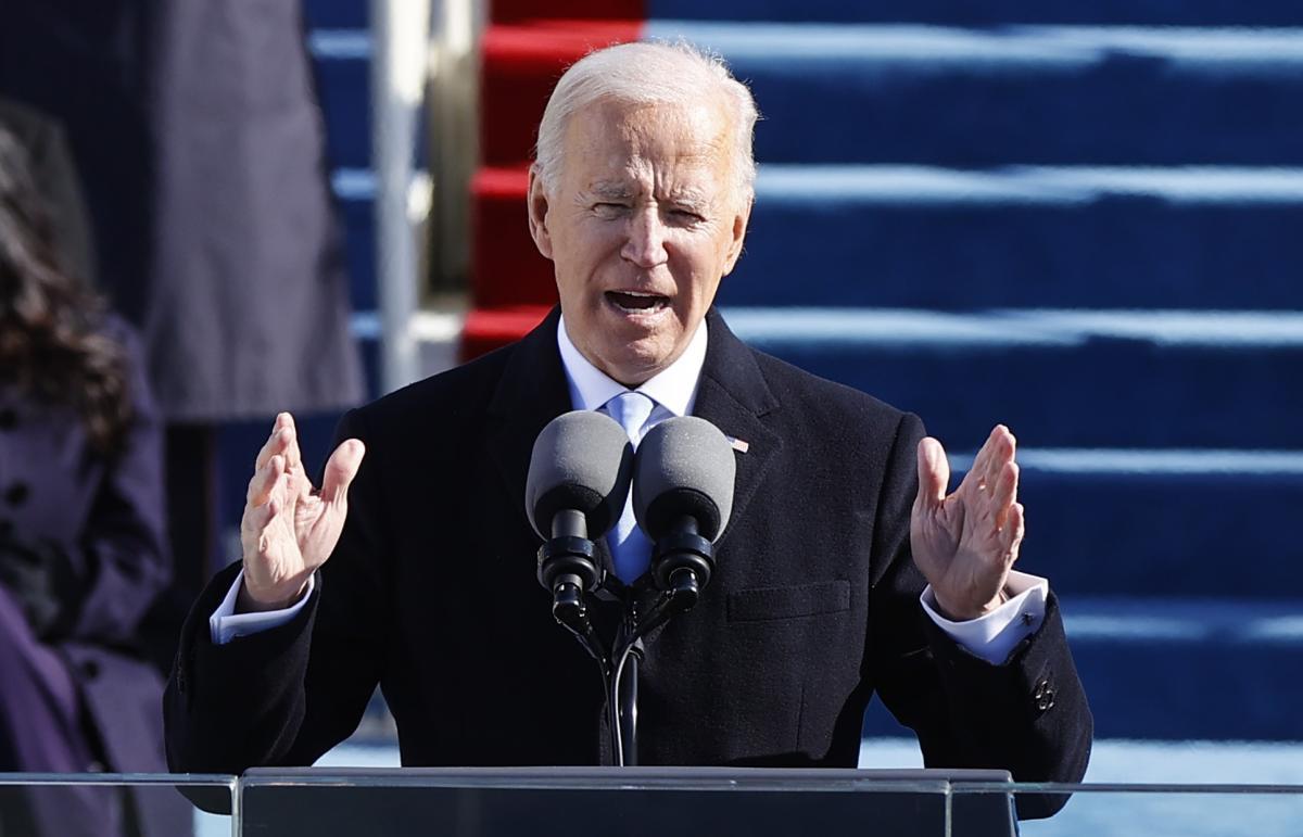 Байден вступил в должность президента США \ фото REUTERS