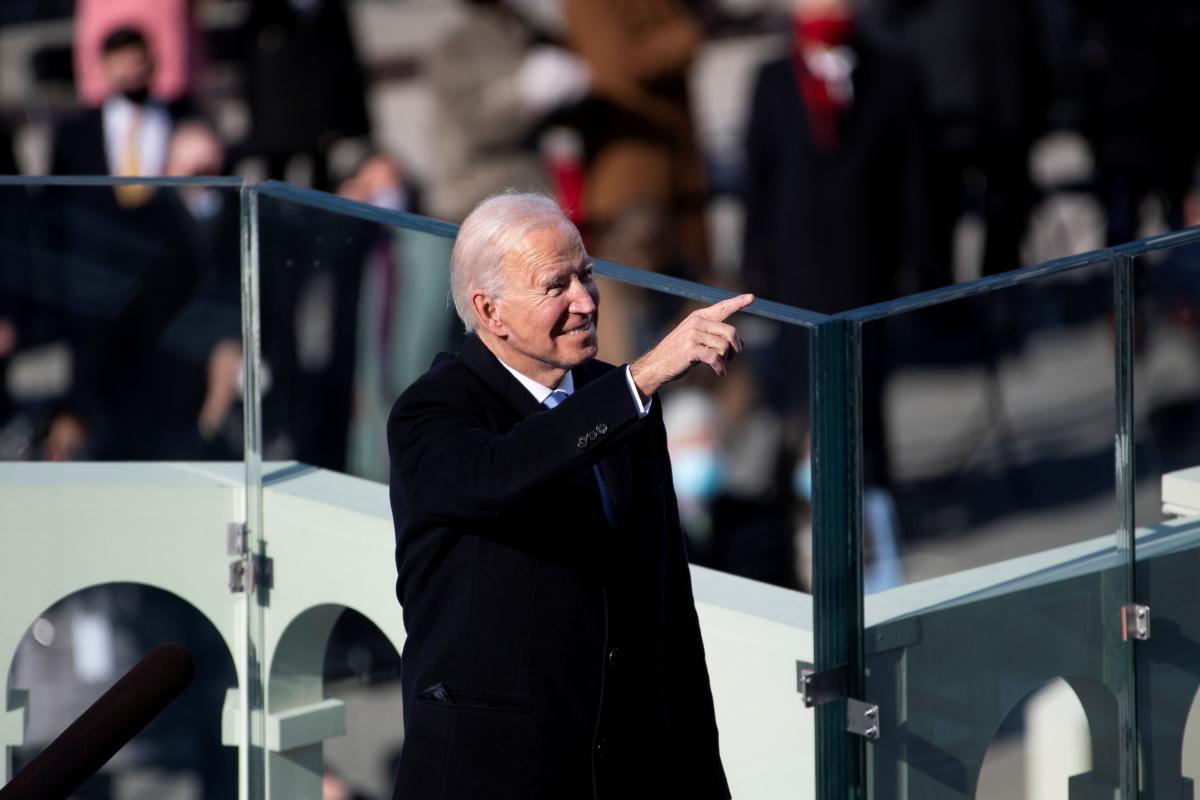 Байден став 46-м президентом США / фото REUTERS