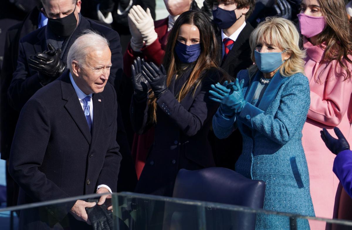 Інавгурація Джо Байдена / фото REUTERS