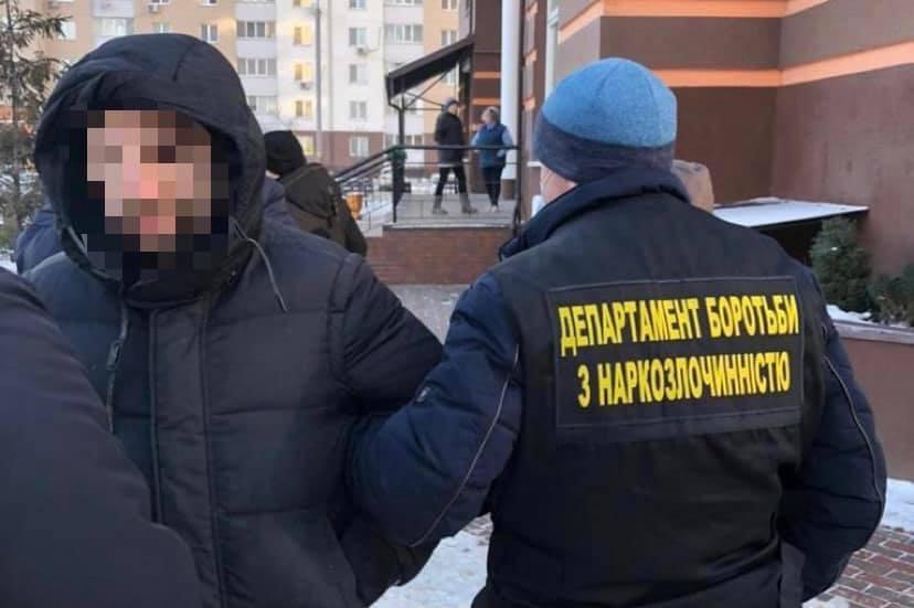 Затримали киянина, який продавав фейкові довідки / фото facebook.com/kyiv.gp.gov.