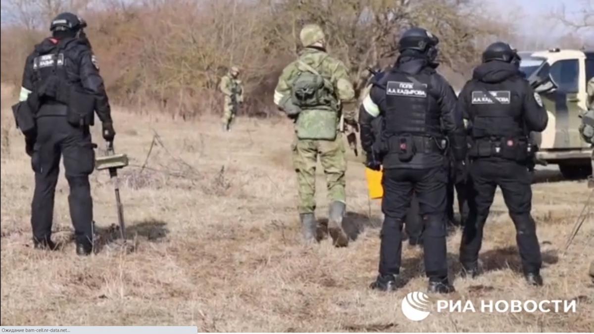 Российские силовики убили Батукаева и еще пять человек/ скриншот из видео