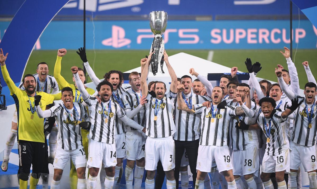 Ювентус выиграл трофей / фото REUTERS