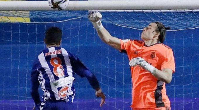 Андрей Лунин дебютировал за Реал / realmadrid.com