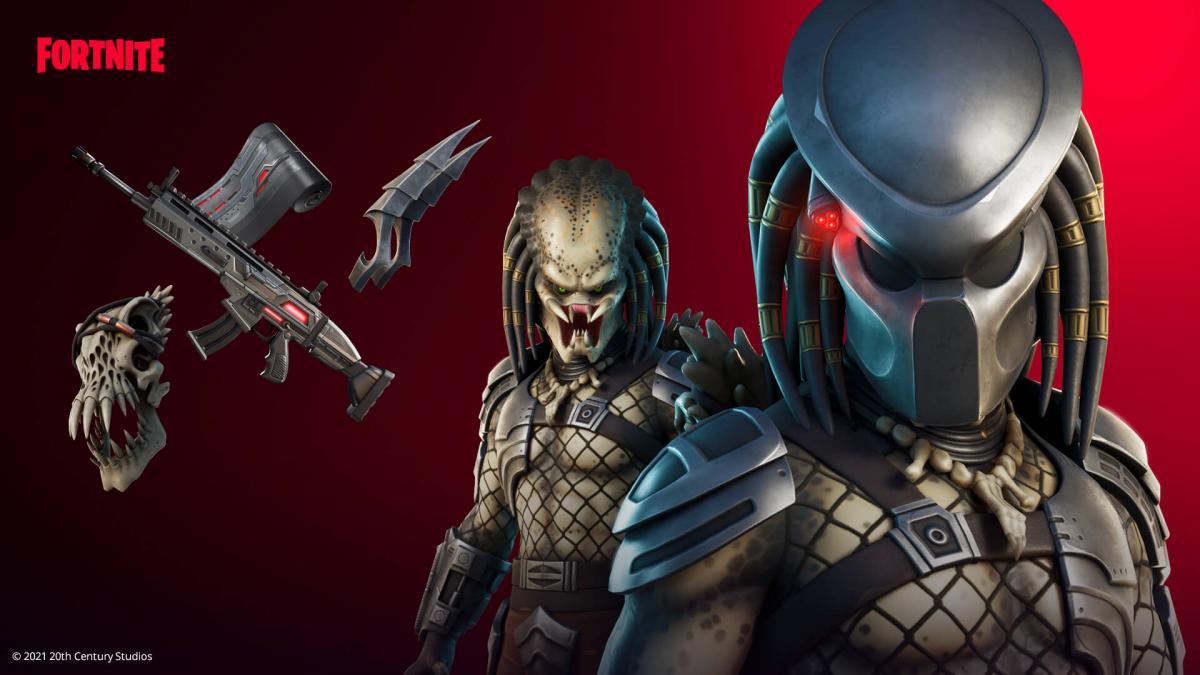 Хищник уже доступен обладателям боевого пропуска пятого сезона Fortnite /фото epicgames.com