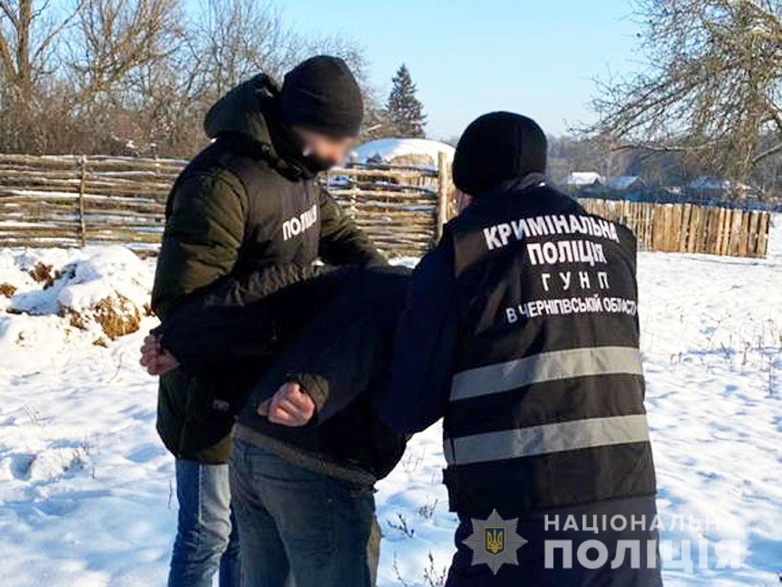 Злоумышленника задержала полиция \ cn.npu.gov.ua