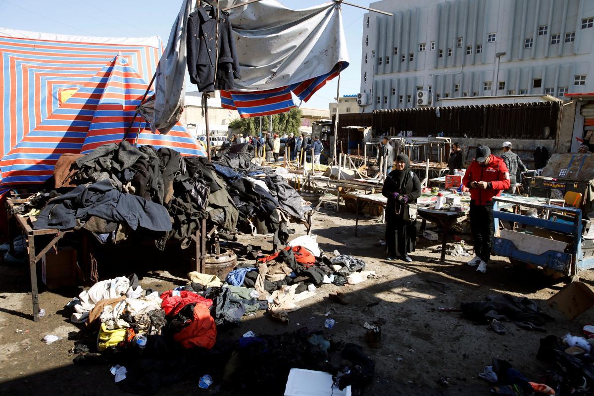 Теракт в Багдаде / фото REUTERS