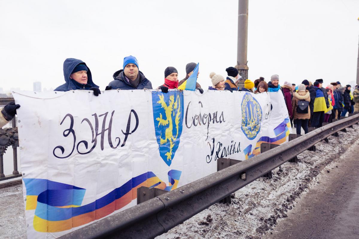 22 січня - День соборності України / sobornist.org.ua/
