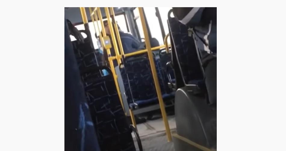 Пасажири залишились байдужими до того, що відбувалося \ скриншот з відео