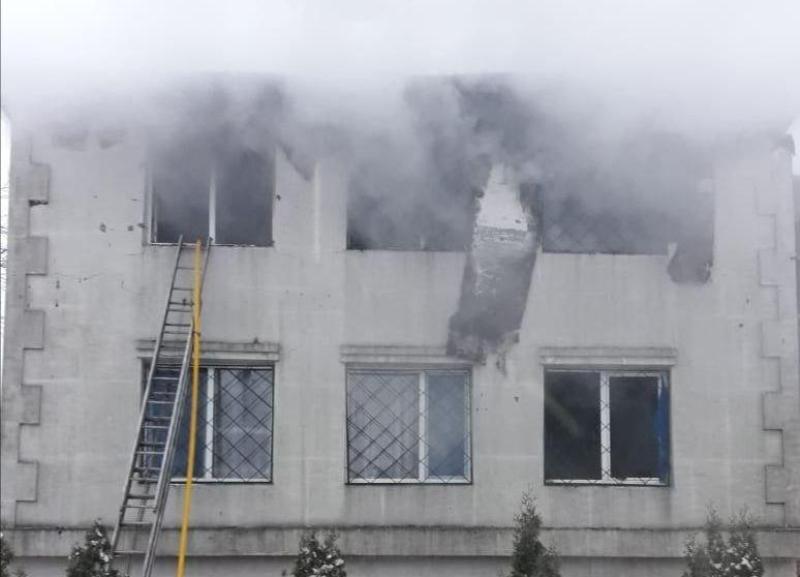 Пожежа в Харкові / фото ДСНС