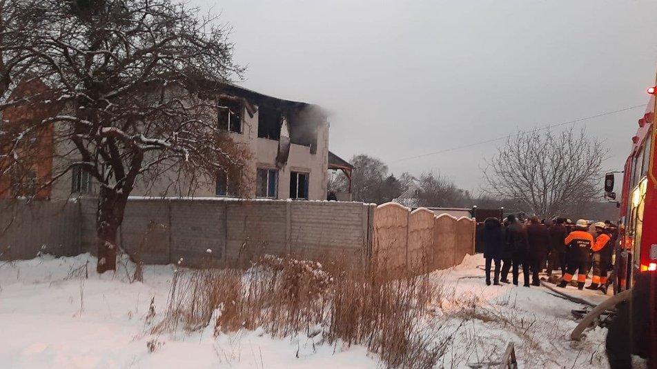 В результате пожара в Харькове погибли 15 человек / фото общественное