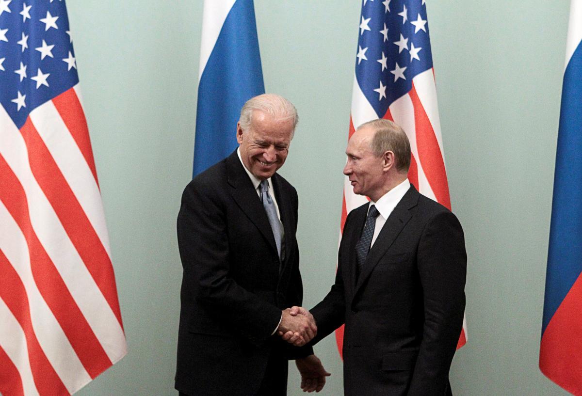 Джо Байден і Володимир Путін / фото REUTERS