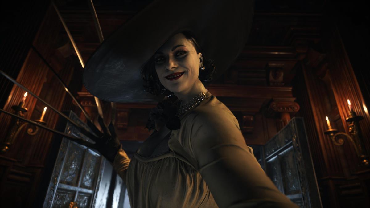 Леди Димитреску - один из персонажей Resident Evil Village / скриншот